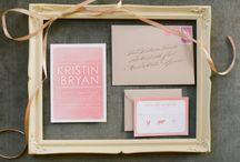 Stationery / by Cindy Salgado Wedding Design & Events