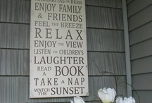 Cool home signs