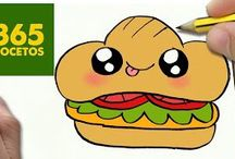 Sanwich kawaii