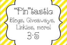 """""""Pin""""tastic Blogs, Giveaways / Pin your Blogs, giveaways, linkies, etc here!"""