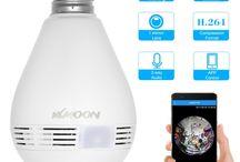 Camera LED Light Bulb IP Camera