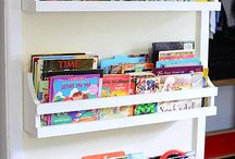 children's book  shelves