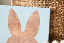 Easter Decor / by Tiffany Rozier
