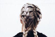 Vlechten / Kapsel en inspiratie voor vlechten in je haar.