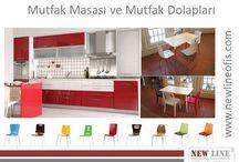 Mutfak Masalari , Mutfak Dolaplari, Mutfak Sandalyeleri / www.newlineofis.com