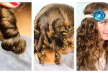 Hair styles and make up