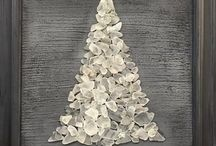 Christmas Stone Art