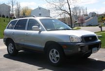 Used 2004 Hyundai Santa Fe for Sale ($6,435) at Middletown, CT /  Make:  Hyundai, Model:  Santa Fe, Year:  2004, Body Style:  4WD/SUVs, Exterior Color: Silver, Interior Color: Gray, Fuel: Gasoline,  Doors: Four Door, Vehicle Condition: Excellent, Mileage:106,400 mi, Engine: 6 Cylinder, Transmission: Automatic, Drivetrain: All wheel drive.   Contact: 860-965-0335   Car ID (57204)