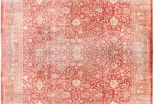 Antique Oushak Turkish Rugs / Lavender Oriental Carpets Collections of Antique Turkish Oushak Rugs
