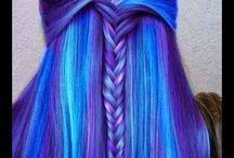 Blue Hair / Blue colorful Hair