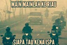 Riau / kejenuhan akan asap