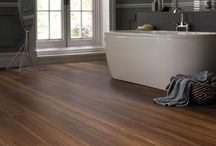 """Vinyl Floors / The story with the vinyl sheet begins with the """"look."""" Check out these attractive vinyl floors!"""