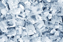 The Word: ICE / ice (n.): Frozen water; a crystalline solid.