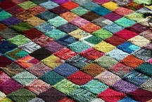 knitting patchwork