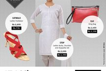 Chic ethnic look for women / Check out a chic ethnic look for women