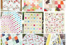 Quilts with charm squares