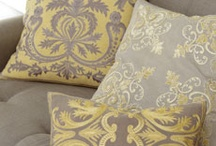 Yellow and Gray Living Room? / by Stacey French-Lee