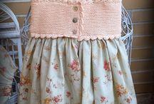 vestidos ganchillo niña