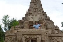 Sand art / stavby z písku