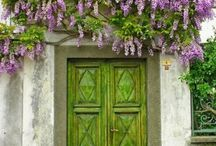 le jardin / by Carol Livingston