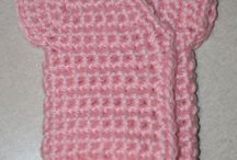 CROCHET - ANGEL BABIES & PREEMIES / Clothes for tiny preemies.... and for angel babies born too soon ...