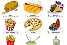 food menu english