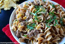 Recipes - Dinnertime / Dinner recipes