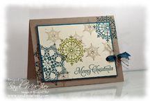 Handmade Cards- SU- Snowflake Soirée / Cards w Snowflake Soirée stamp set