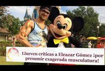 Llueven críticas a Eleazar Gómez ¡por presumir exagerada musculatura!