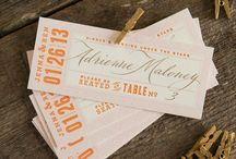 Our letterpress wedding invitations / for life's extraordinary events