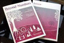 Our Work - Buzzacott Chartered Accountants – Company magazine / We design a very bespoke and creative company magazine