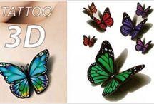 Les tattoos 3D
