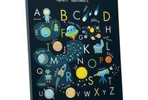 Буквы, азбука