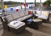 Hamptons Collection / Versatility and understated elegance means the Hamptons Collection is easily adaptable to multiple rooms and decor styles. Self-expression is also a crucial feature of this collection; free-standing sectional units can be configured as a continuous seating arrangement or moved about to create intimate conversation nooks.