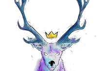 Wild life illustrations by Pablo Calle