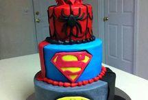Cake - Superheros