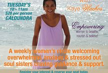 Women's Wellness / Women's wellness workshops & services offered by Soul2SoulWellness with Kaye Vlachos