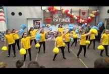 tanečky a cvičení