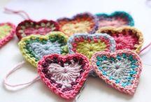 Crochet (hearts)