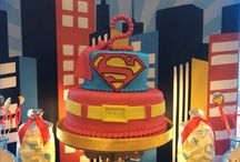 Candy bar Superman Party