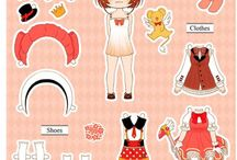 Paper Doll - CLAMP, Monster High