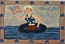 Rug Hooking Americana / by Sylvia Gauthier