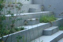 Nedgravet terrasse