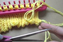 pletení na kruhu a rámu