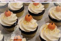 Anna's 1st bday, pumpkins