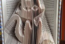 Book sculptures / by Shazzer Anna