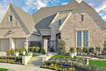 Newman Village Patio  / Darling Homes elevates patio living to a new level of luxury in this prestigious Frisco community. The Newman Village Patio Community offers distinctive one and two story floor plans featuring many lavish amenities including covered porches and patios, luxurious master suites, large gourmet kitchens with walk-in pantries, extensive courtyards and guest casitas.