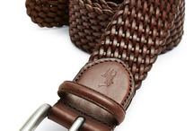 Leather Belts Inspiration
