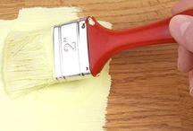 pintura muebles madera