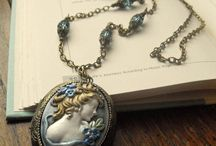 Mother's Day Jewelry / Vintage, Antique, Cameo, Locket Jewelry, Gift Ideas